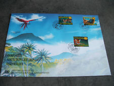1 FDC ONU 1998 GD FORMATX3 T. 1ER JOUR(VIENNE/GENEVE/NEW YORK)FORETS TROPICALES