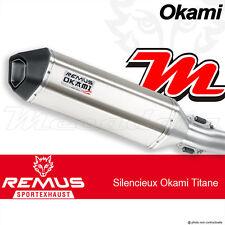 Echappement Remus Okami Titane avec Catalyseur Suzuki DL 650 V-Strom 2012
