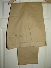 Big & Tall Flat Front Mid Rise 34L Trousers for Men