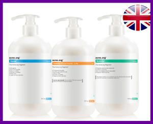 Acne.org The Regimen Big Complete Treatment Kit *DOUBLE SIZE* *UK SELLER*