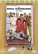 THE ROYAL TENENBAUMS Two Disc Collector's Edition DVD R4 - PAL