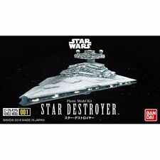 BANDAI Star Wars VEHICLE MODEL 001 STAR DESTROYER Model Kit NEW from Japan