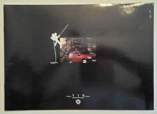LANCIA Y10 RANGE orig 1989 UK Mkt Sales Brochure - GT ie LX Fire