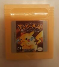 Pokemon Yellow Version GBC Gameboy Color  Reproduction SHIPS FROM USA