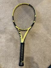 Babolat Pure Aero 4 1/4 inch Grip Strung Tennis Racket