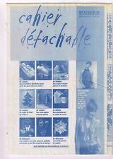 Petits Haut en Satin de Soie & 15 ouvrages. 01/2004,Vintage. Neuf non découpé.