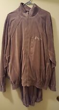 Preowned vintage Sean John Velour Sweatsuit Size Large