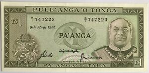 TONGA - 1 PA ANGA 1985 - Billet de banque NEUF