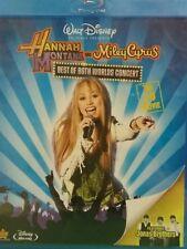 Walt Disney~ Blue Ray~ New~ Hannah Montana~ Miley Cyrus~ Best of Both Worlds 3D