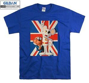 Danger Mouse Penfold British Cartoon T-shirt T shirt Men Women Unisex Tshirt 735
