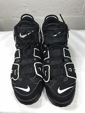 (3010) 100% Authentic 2010 Nike Air More Uptempo Black/White Size 11 414962 001