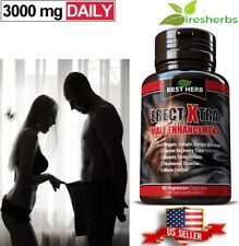 MALE PENIS ENLARGER GROWTH PILLS GET BIGGER GROW THICKER LONGER GAIN SIZE/GIRTH