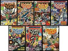 Logan's Run Comic Set 1-2-3-4-5-6-7 Lot 1976 Movie Adaptation George Perez art