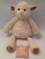 """SCENTSY Buddy Lenny the Lamb Sheep 15"""" Skinny Dippin' Scent Pack Cream Plush"""
