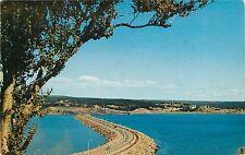 Postcard Canso Causway Cape Breton Island Nova Scotia Canada pm 1950's