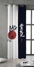 TSUKI NAGASAKI Cortina japonesas con ojales metálicos 150x260 / Japan Curtain