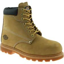 MENS DICKIES CLEVELAND SAFETY WORK BOOTS SIZE UK 9 EU 43 HONEY STEEL TOE FA23200