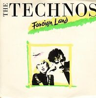 """THE TECHNOS foreign land/dub mix TWIN 1 uk prt 1983 7"""" PS EX-/EX"""