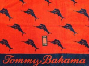 NWT TOMMY BAHAMA Marlin Beach Towel 36 x 68 100% Cotton