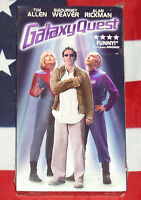 NEW Galaxy Quest (VHS, 1999) Tim Allen, Sigourney Weaver, Alan Rickman SEALED