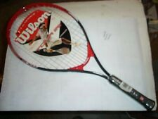 New Wilson Titanium 25� Jr.9-12 yr old Titanium Tour tennis Racket Nwt
