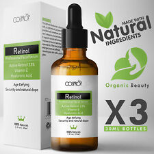 Retinol Serum - Pure Natural Vitamin C A Hyaluronic Acid - Face Anti Wrinkle Oil
