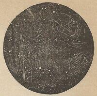 A4178 Boote - Incisione - Stampa Antica del 1887
