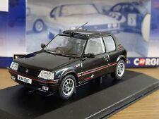 CORGI VANGUARDS PEUGEOT 205 GTI 1.9 1FM BLACK CAR MODEL VA12706B 1:43