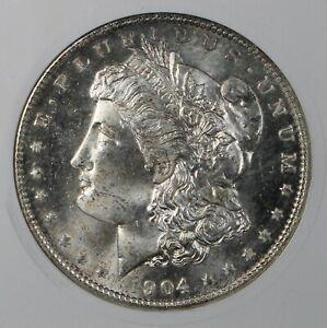 1904-O Morgan Silver Dollar ANACS MS65 Collector Coin FREE SHIPPING