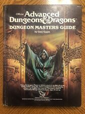 Advanced Dungeons & Dragons Dungeon Masters Guide 1979 TSR Gygax AD&D Hardcover