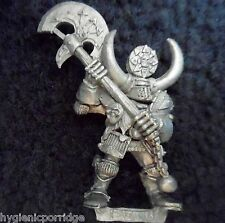1994 GUERRIER CHAOS commande groupe Champion GAMES WORKSHOP CITADEL WARHAMMER Armée