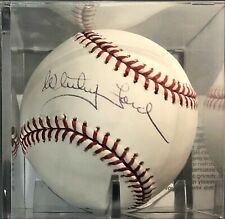 Whitey Ford Auto Autographed Signed Baseball with COA! New York Yankees Legend