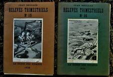 20 prints by JEAN BRULLER Vercors RELEVES TRIMESTRIELS La Danse des Vivants 1938
