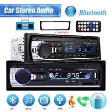 1DIN radio Autoradio bluetooth de coche manos libres car USB TF AUX MP3 + Cuadro