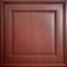 Faux Wood Ceilume Stratford Ceiling Tiles - Box of 20