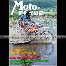 MOTO REVUE N°2278 MOTOBECANE D55 TT KAWASAKI KH 500 RANDONEE ATLAS MASETTI 1976