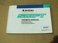 suzuki swift owners manual