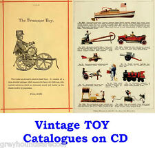 Vintage Toy Catalogues on a Data Disc Childrens Toys Meccano PDF Files eBooks