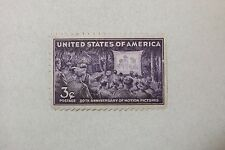$0.03 Cents 50th Anniversary of Motion Pictures Stamp