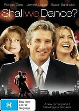 SHALL WE DANCE? DVD=RICHARD GERE=REGION 4 AUSTRALIAN RELEASE=NEW AND SEALED