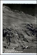 Stuben Arlberg Arlbergstrasse Österreich alte Postkarte Ansichtskarte gelauf.