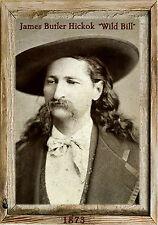 Magnet Old West Photo Magnet James Butler Hickok Wild Bill 1873