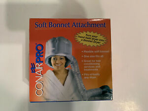 Conair Pro Soft Bonnet Attachment fits most hair dryers 2007 one size fits all