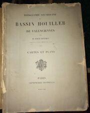 TOPOGRAPHIE SOUTERRAINE DU BASSIN HOUILLIER DE VALENCIENNES. 1869