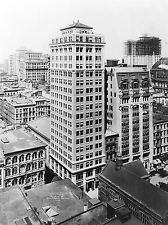 VINTAGE Photo architettura UNDERWOOD Building di New York City USA Stampa lv4837