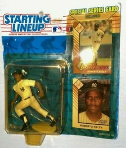 1993 Starting Lineup Roberto Kelly New York Yankees