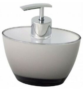 CLASSIC GREY SOAP DISPENSER Simple, Seamless & Sophisticated, Acrylic