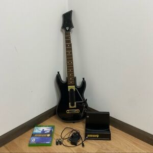 Guitar Hero Live Xbox One Bundle Game 2 Dongles Guitar Power Stand Accessories