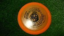 new Abc Discs golf Secret Weapon long range driver orange 172 gold plastic