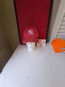 Vintage New York Yankees Hat / Cap Red Twins Enterprises